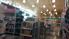 """Looking out from the front right corner (Retail Retell) Tags: toys""""r""""us memphis tn commons wolfcreek wolfchase galleria concept 2000 exterior geoffrey giraffe retail liquidation closing bankruptcy going out business former toy store toys r us shelby county babies babies""""r""""us"""