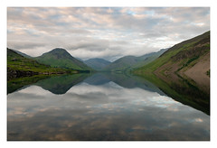 WASTWATER REFLECTIONS (markmcneill22) Tags: lakedistrict nikon landscape wastwater cumbria f11 great britain reflections gable scarfell pike