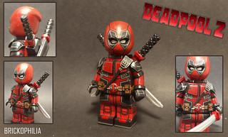 Custom Lego Deadpool