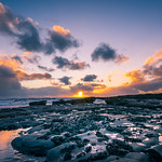 Liscannor at sunset - Clare, Ireland - Seascape photography thumbnail