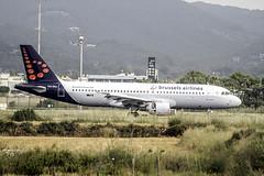 A320-214 BRUSSELS AIRLINES - EN iBIZA (ibzsierra) Tags: avion aviacion aeropuerto ibiza eivissa baleares canon 7d tamron g2 150600 plane brusselsairlines oosnj airbus a320214 a302
