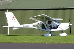 G-MILR (GH@BHD) Tags: gmilr aeroprakta22lsfoxbat aeroprakt a22 a22ls foxbatsupersport600 foxbat supersport600 supersport tandrageeairfield tandragee microlight aircraft aviation