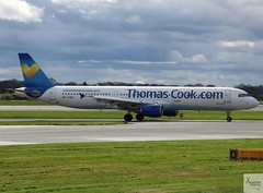 Thomas Cook Airlines A321-211 G-NIKO taxiing at MAN/EGCC (AviationEagle32) Tags: manchester man manchesterairport manchesteravp manchesterairportatc manchesterairportt1 manchesterairportt2 manchesterairportt3 manchesterairportviewingpark egcc cheshire ringway runway ringwayairport runwayvisitorpark runway23r unitedkingdom uk airport aircraft airplanes apron aviation aeroplanes avp aviationphotography aviationlovers avgeek aviationgeek aeroplane airplane planespotting planes plane flying flickraviation flight vehicle tarmac thomascook thomascookairlines thomascookairlinesuk sunnyheart airbus airbus321 a321 a321200 a321211 gniko
