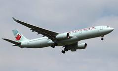 Air Canada. C-GHKR. Airbus A330-343. AC834. (Themarcogoon49) Tags: aircanada airbus a330 aircraft landing gva lsgg cointrin airport planespotting avgeek switzerland
