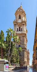 Cathedral of Malaga / Кафедральный собор в Малаге (dmilokt) Tags: церковь храм собор church chapel kirk cathedral temple sanctuary shrine dmilokt