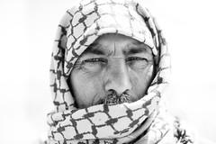 Syrian soul (Giulio Magnifico) Tags: syria decisive nikon portrait refugees white arabic da3sh backlight deepsoul 35mm bw d800e yazidi war desert kurdish isis border blackandwhite talabyad reportage middleeast soulful eyes