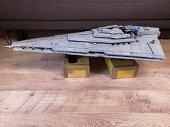 UCS Resurgent-class update (Commander Cloverleaf) Tags: star wars resurgent class destroyer finalizer episode 8 9 force awakens last jedi cruiser battleship space craft lego ucs ultimate