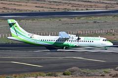 EC-LGF ATR-72 @ Las Palmas 24th February 2018 (_Illusion450_) Tags: aeropuertodegrancanaria aeropuerto elburrero lpa laspalmas gclp aeroplane aeroport aeronautical airport aircraft airplane airline airlines aviation avion flughafen 240218