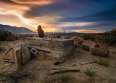 Sunset (dwblakey) Tags: california owensvalley landscape desert millpond easternsierra bishop tungstenhills evening junk outdoors unitedstates us