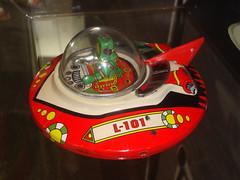 Identified Tin Object (Hydra5) Tags: tin toy alien ufo ontariosciencecentre