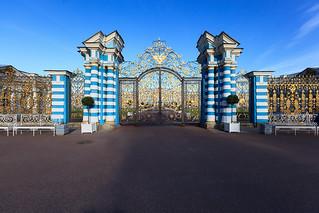 Gates of the Catherine Palace