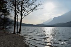 Lago di Cavedine - Italy (Biagio ( Ricordi )) Tags: lago lake trentino italy montagna nuvole paesaggio cavedine