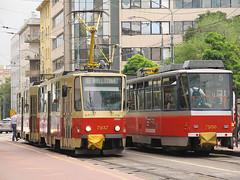 Tatra T6A5, #7937 & #7950, DP Bratislava (transport131) Tags: tram tramwaj dp bratislava tatra t6a5
