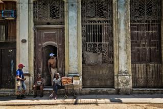 LA HAVANE: SCÈNE DE RUE