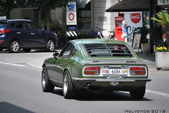 Datsun 240Z - Switzerland, Bern (Helvetics_VS) Tags: licenseplate switzerland bern oldcars datsun 240z