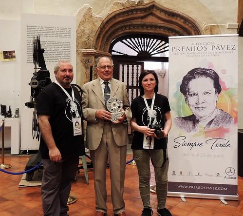 Inauguración V Premios Pávez