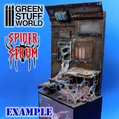 #spiderserum example of use to create #spiderwebs by Green Stuff World (greenstuffworld) Tags: spiderserum spiderwebs wwwgreenstuffworldcom spain