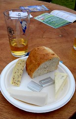 Cheese Platter (James Bowe) Tags: cambridgebeerfestival camra camrabeerfestival beerfestival 2018 cheese beer bread cheeseplatter