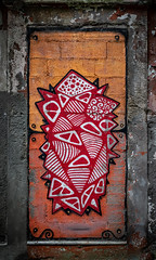 The streets of Porto (Leaning Ladder) Tags: streetart art graffiti street colors shapes leaningladder canon 7dmkii