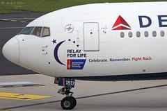 Delta Air Lines (ab-planepictures) Tags: delta air lines boeing 767 dus eddl düsseldorf flugzeug plane aircraft flughafen airport aviation