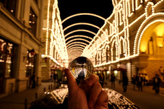 DSCF0323 (olegmescheryakov) Tags: keywords night × nightscape city cityscape urban town street light nightlight people marketplace glass ball reflection mirror beautiful landscape landmark twilight moody 35mm abstract architecture moscow tour travel art modern palace tourism
