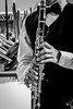 Finger Placement (FitzJohnson) Tags: musical instrument musicalinstrument woodwindinstrument blackandwhite bw blackwhite canon canonrebel 600d t3i nebraska kid child jayden clarinet clarinetist monochrome monochromatic reed music