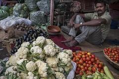 vegetable vendor (charlesgyoung) Tags: jaipur india charlesyoung market nikon nikonphotography karineaignerphotographyexpedition streetphotography travelphotography rajasthan