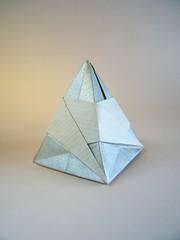 Swirled Mountain Box - José Meeusen (Rui.Roda) Tags: origami papiroflexia papierfalten caja caixa boîte swirled mountain box josé meeusen