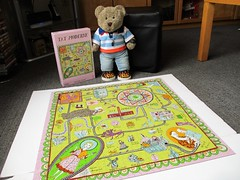 Grayson, yer not a very good drawer... (pefkosmad) Tags: jigsaw puzzle hobby leisure pastime graysonperry tatemodern tedricstudmuffin teddy ted bear animal toy cute cuddly soft stuffed plush fluffy