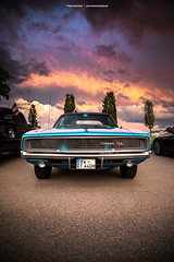 1968 Dodge Charger Front End (Dejan Marinkovic Photography) Tags: 1968 dodge charger mopar muscle car american classic frontend face sky sunset