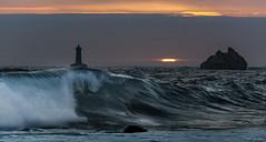 Iroise sunset (Traezh) Tags: sunset bretagne breizh brittany brest porspoder four phare lighthouse littoral light sun vague wave crépuscule twilight traezh sea seascape mer océan