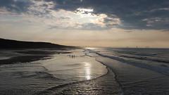 Beam Me Up (kpce1960) Tags: sky clouds sunburst cloudburst blue water waves beach landscape scenic weather canon 7d light