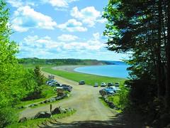 Sandy Cove Beach - Saint John, New Brunswick (jeffglobalwanderer) Tags: irvingnaturepark beach beachfront sandycovebeach saintjohn newbrunswick countryroad seaside canada ocean coast coastline atlanticocean