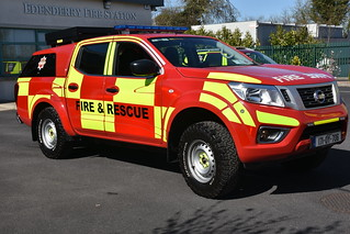 Offaly Fire & Rescue Service 2017 Nissan Navara HPMP Fire L4P 171OY706