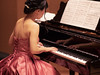 Beautiful woman playing piano in concert (Apricot Cafe) Tags: img92794 acousticmusic adultsonly asia asianandindianethnicities beautifulpeople canonef85mmf14lisusm classicalconcert classicalmusic classicalmusician expertise japan japaneseethnicity liveevent musicalinstrument performingartsevent skill stageperformancespace tokyojapan artscultureandentertainment bodypart cheerful concentration concert concerthall cooperation dress elegance flute formalwear groupofpeople happiness indoors lifestyles music musicnote musician oneperson oneyoungwomanonly onlywomen performance pianist piano pianokey playing realpeople rearview serenepeople success teamwork waistup women youngadult