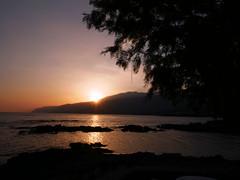 sunset (Fabian Biebelmann) Tags: sunset sonnenuntergang griechenland fabian biebelmann greece sea beach