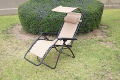Zero gravity chair with a canopy for shade from Best Choice Products (yourbestdigs) Tags: chair recline reclining zero gravity canopy cover shade recliner seat yard bush park frontyard backyard fence
