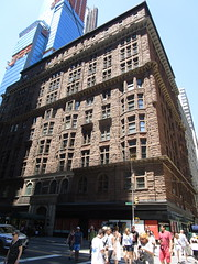 Osborne Apartments - 205 West 57th St NYC 3956 (Brechtbug) Tags: the osborne apartments brown stone type building designed built by james edward ware 1883 located 205 west 57th st 7th ave midtown manhattan new york city architecture nyc 2018 tower office buildings apartment urban 06172018 spring summer june street avenue kinda gloomy even sunlight