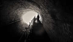 WP_20180323_007 (olivieri_paolo) Tags: bw tunnel abstract people light dark canal supershots