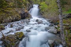 Cascada en Arisnal, Andorra (martinscphoto) Tags: andorra casacada cascada arinsal la massana martinscphoto blanco y negro larga exposicion d750 nikon manfrotto