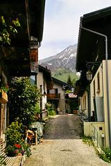 Alpine village Montroc (Fr Paul Hackett) Tags: village alpine mountain sunshine snow sky