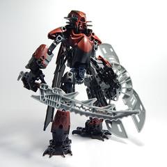 Zonuval (Vorred) Tags: bionicle lego vorred moc mocs comic character patriots elegy toa zonuval amarii