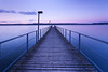 Purple sunrise (SonjaS.) Tags: bodensee sonnenaufgang steg deutschland germany badenwürttemberg preciouspurple smileonsaturday langzeitbelichtung longexposure blauestunde bluehour
