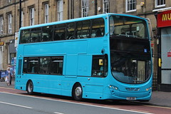 ARRIVA NORTH EAST 7634 YJ61OBG IS SEEN HAVING A BRIEF PAUSE IN DUTIES AT ST MARYS PLACE, NEWCASTLE ON 2 JUNE 2018 (47413PART2) Tags: yj61obg arrivanortheast nebuses bus