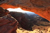Embracing the Sun (Golden Ginkgo) Tags: mesaarch canyonlandsnationalpark utah sunrise sunstar