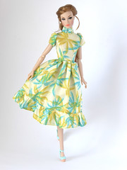 Go See where the palm trees grow (*SquishTish*) Tags: doll clothes fashion style outfit squishtish dress integritytoys poppyparker go see