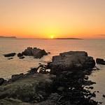 Sunset on sea. thumbnail