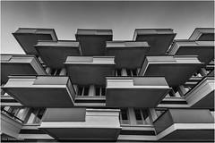 Balkons Paleiskwartier 1 (Rens Timmermans) Tags: canon5dmk3 sigma1224f4556dg architectuur shertogenbosch noordbrabant blackwhite nationalgeographic ngc