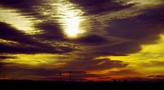 Nubes de colores (portalealba) Tags: zaragoza zaragozaparque aragon españa spain sunset sol atardecer nubes nwn portalealba pentax pentaxk50 1001nights 1001nightsmagiccity 1001nightsmagicwindow cielo