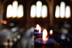 Don't Breathe (Speedy349) Tags: wotton isleofwight quarrabbey candles windows bokeh